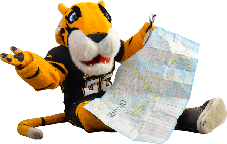 Mascot with Map