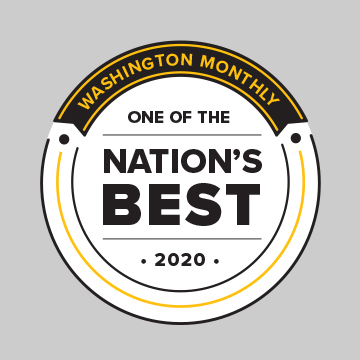 Washington Monthly: One of the Nation's Best 2020