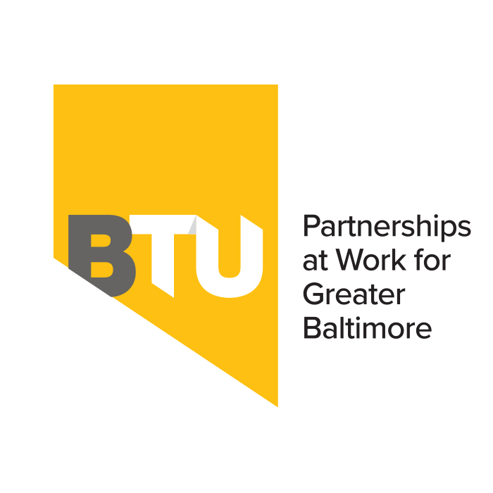 BTU Baltimore plus Towson University. Partnerships at Work for Greater Baltimore