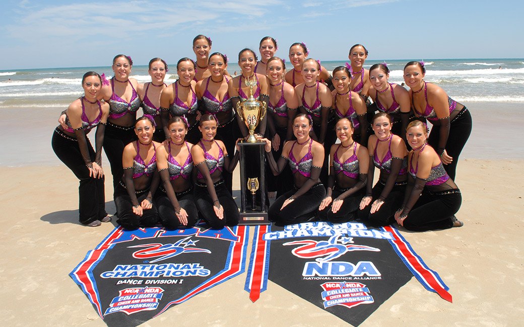 Championship photo of the dance team