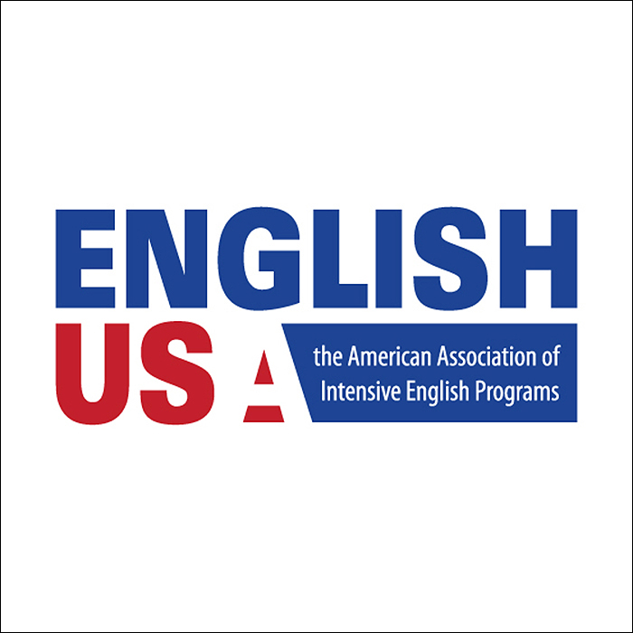 English USA: The American Association of Intensive English Programs logo