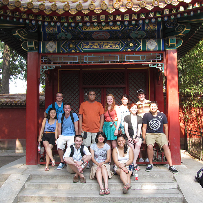 Student group in China