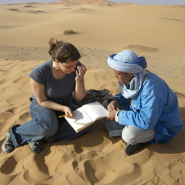 studying abroad in saraha desert