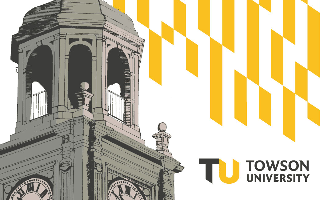 TU Commencement image of Stephens Hall clock