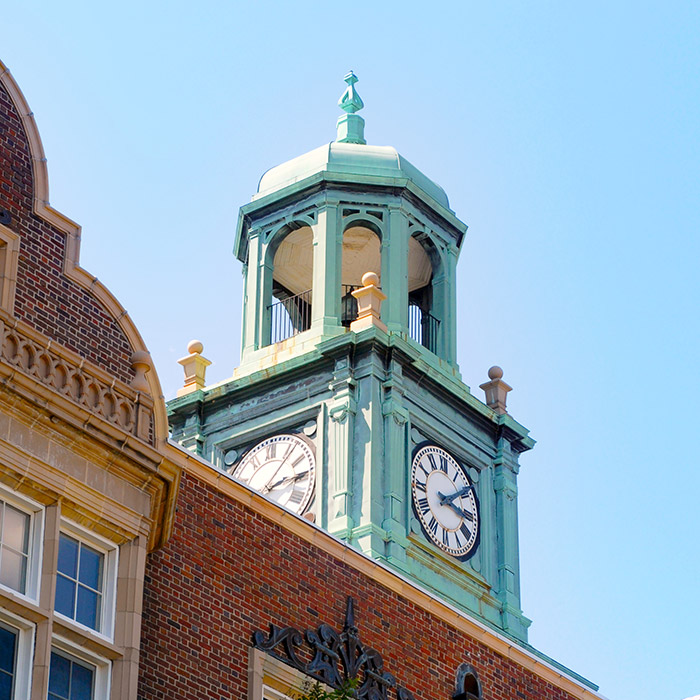 Stephens Hall clock tower