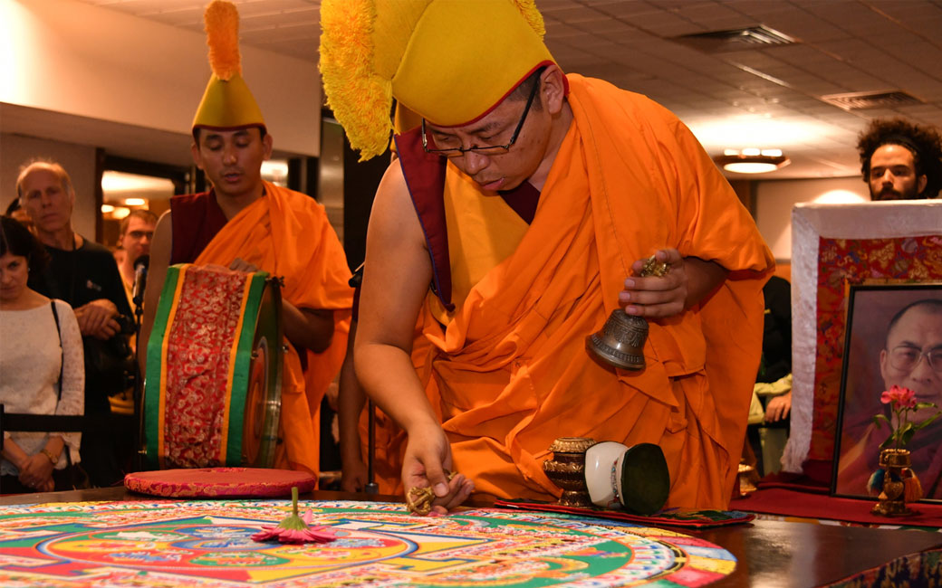 Video of TU Welcomes the Mystical Arts of Tibet