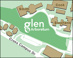 Map of the Glen Arboretum