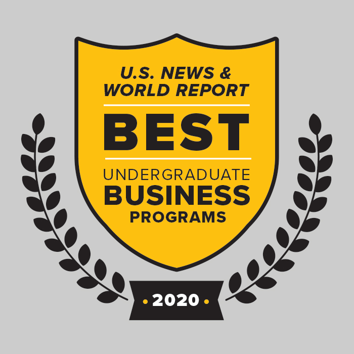 Best undergraduate business program U.S. News & world Report 2020