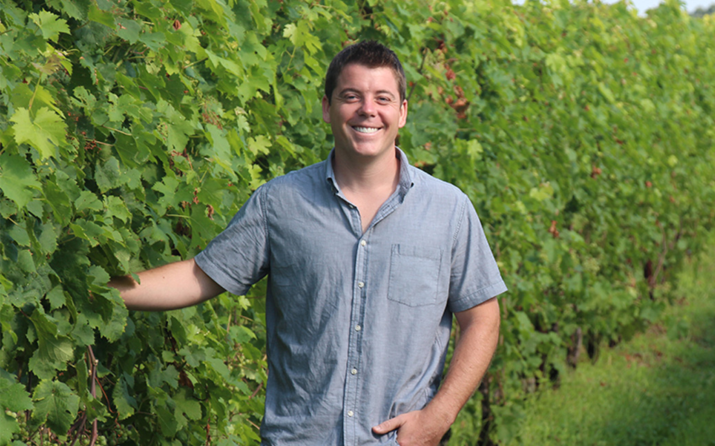 Drew Baker at Old Westminster Winery