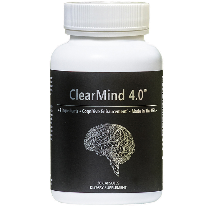 a bottle of the clearmind supplement
