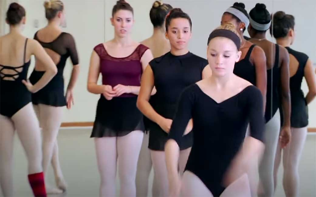 Video of dance class