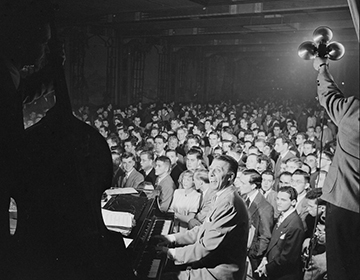 Stan Kenton Orchestra in 1947 or 1948