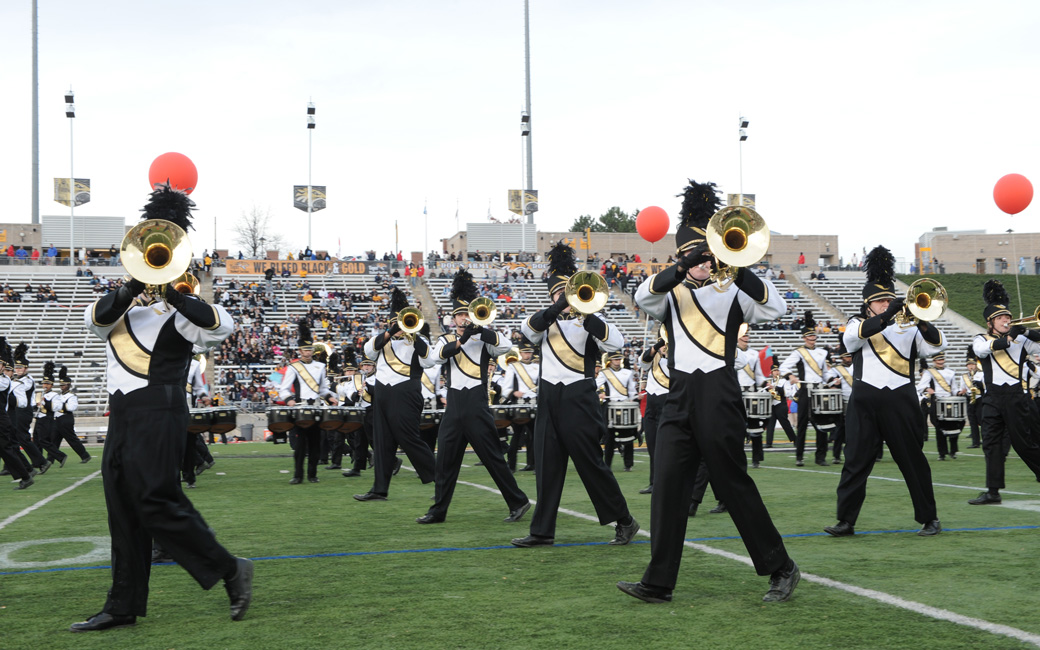 TU marching band