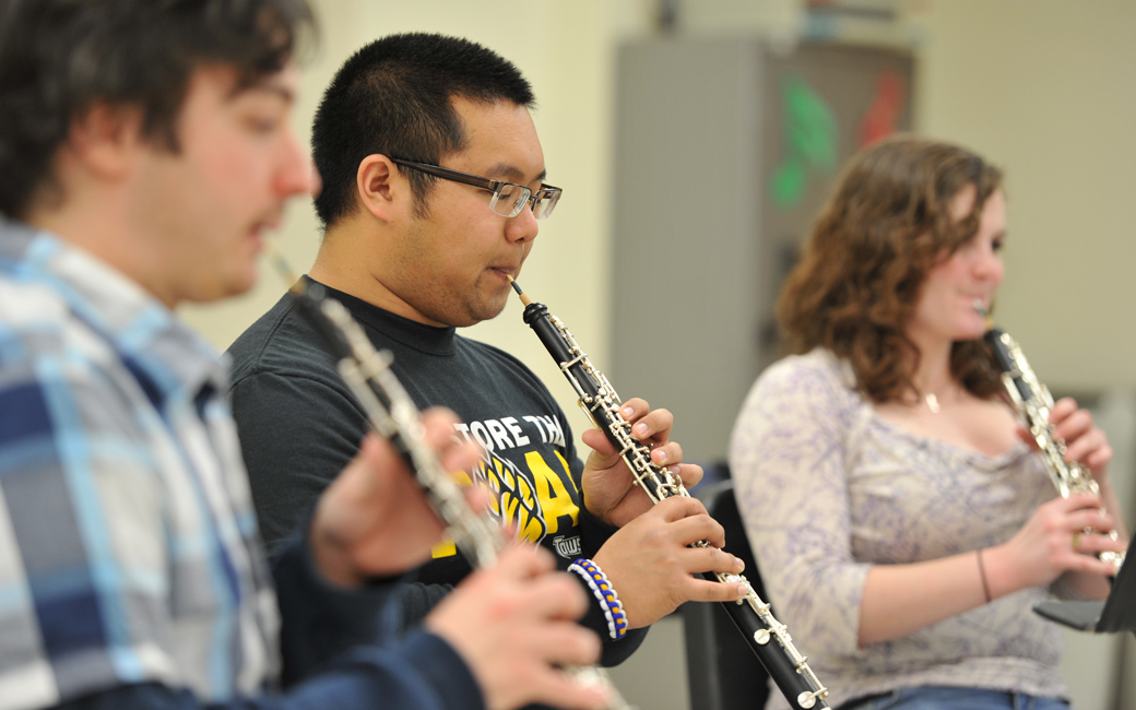 music education class oboes