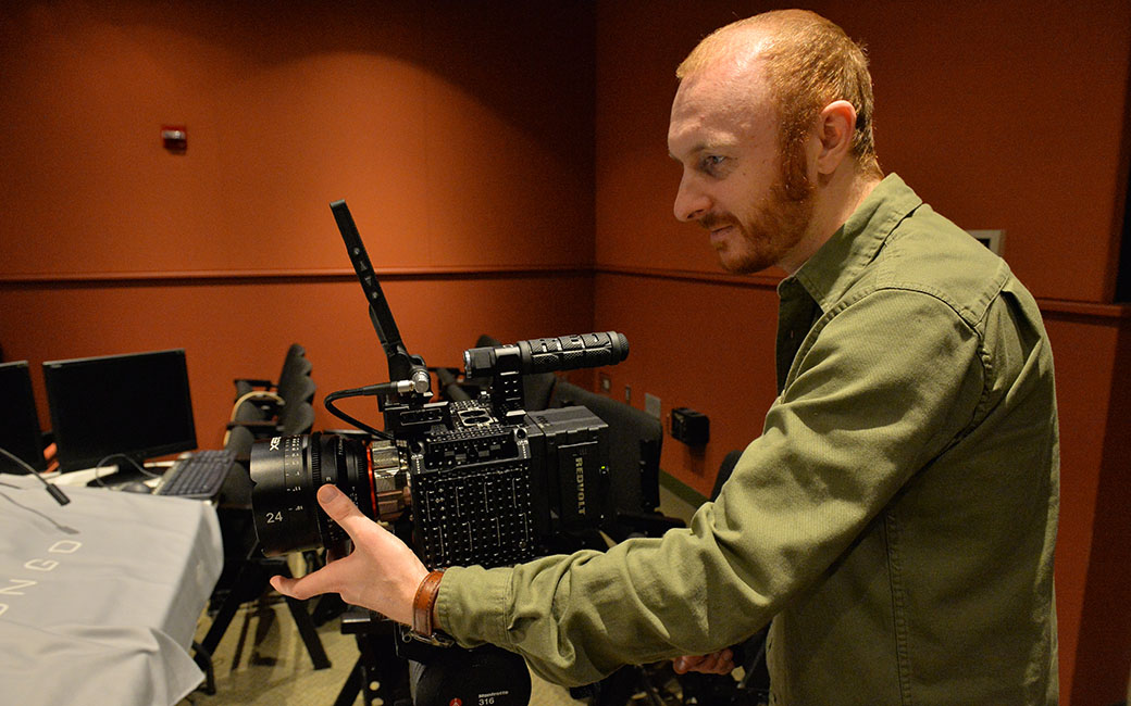 Prof. Joseph Kraemer and the Red Camera