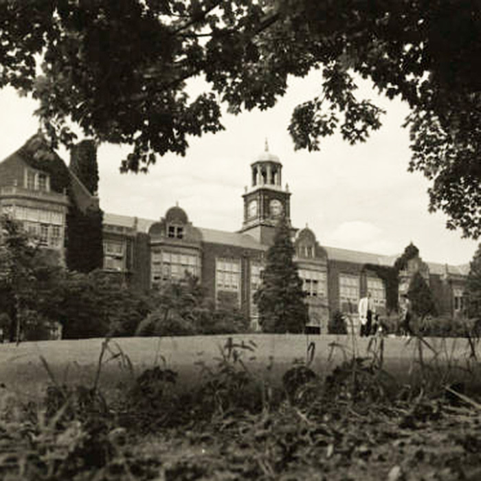 Stephens Hall in 1957