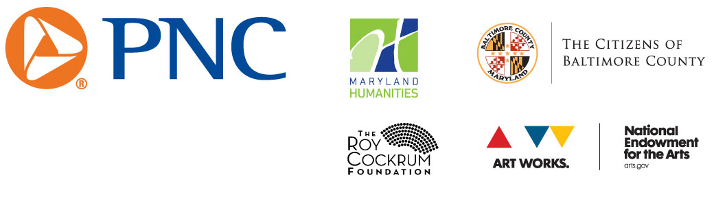 Acting Co Sponsors: PNC, The Maryland Humanities Concil, The Citizens of Baltimore County, The Roy Cockrum Foundation, The National Endowment for the Arts