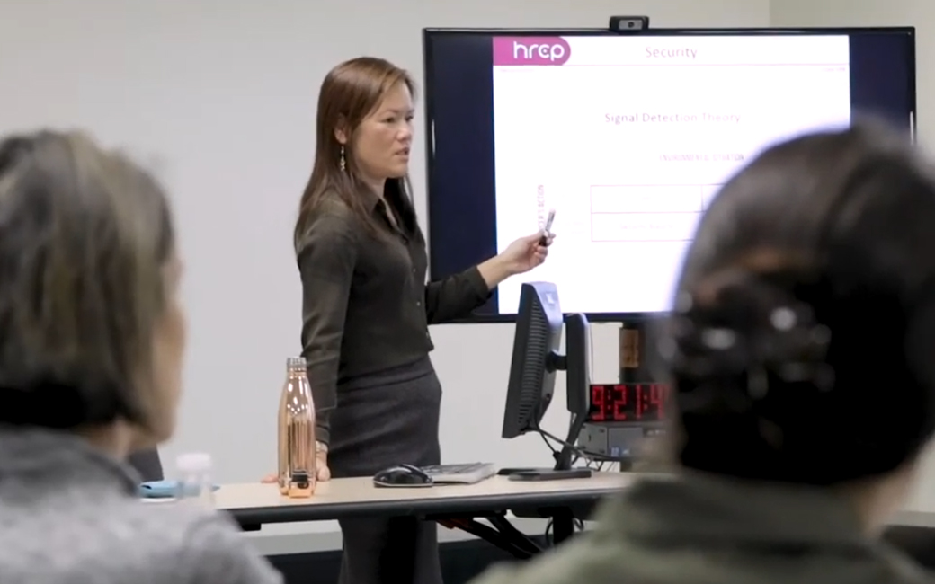 Video of A continuing and professional studies course in session