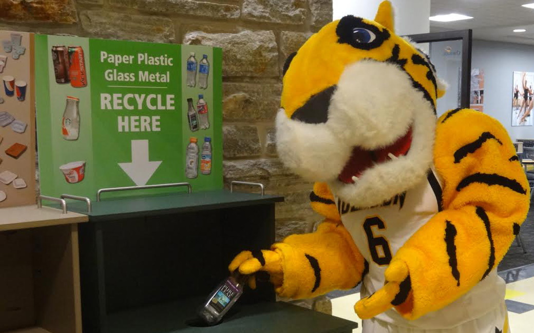 Doc the Tiger Recycling