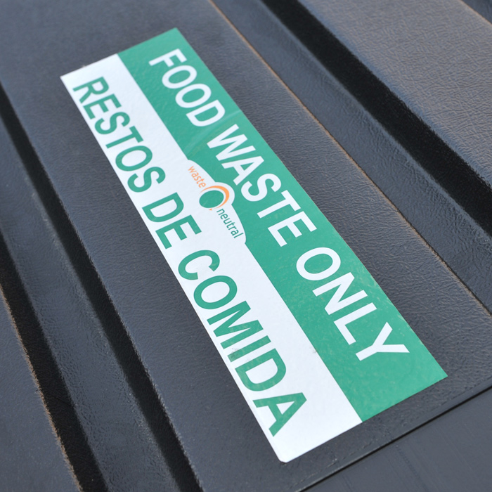 Food Waste Only Dumpster
