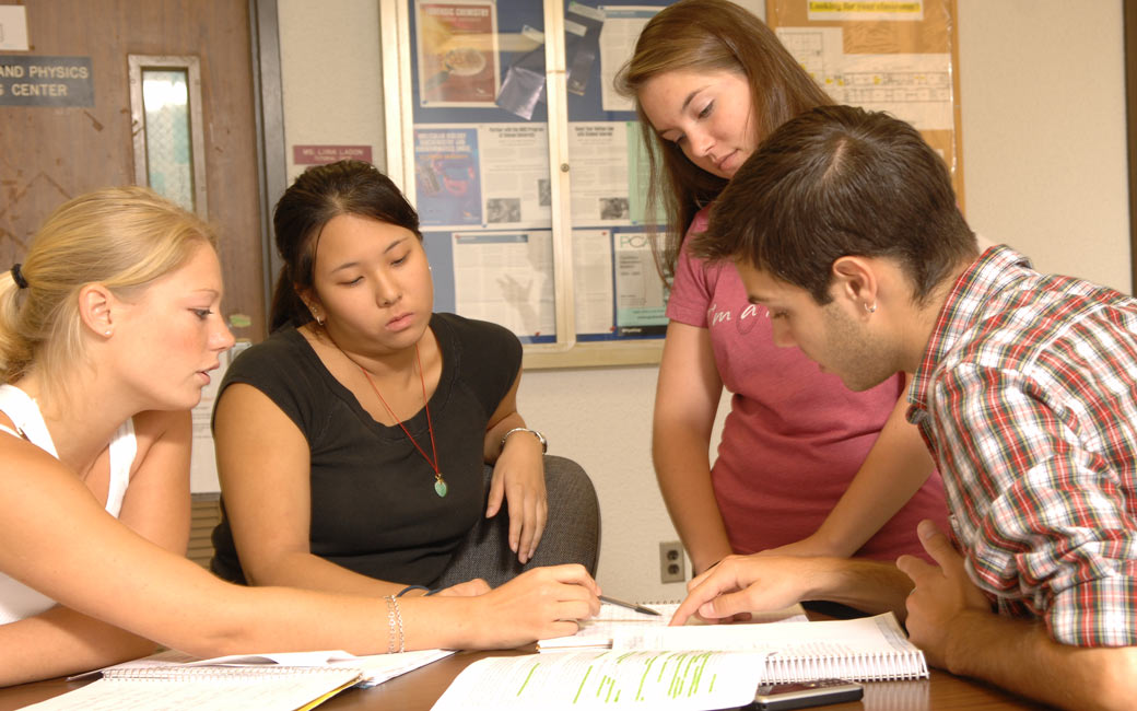 Students receive tutoring for difficult subjects