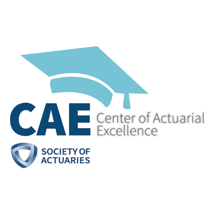 Society of Actuaries' logo signifying TU's status as a center for actuarial excellence