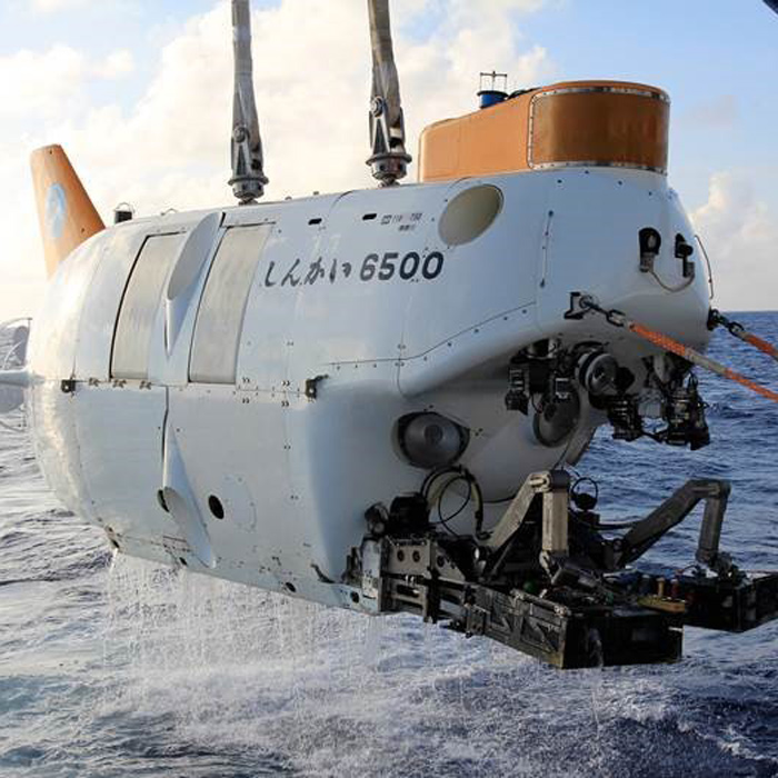 Research submarine