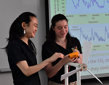 Rachael Talbert and Professor Diana Cheng