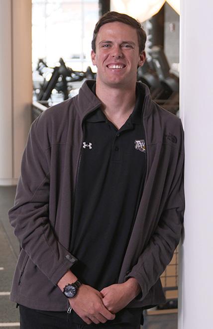 TU student Jeff Miller