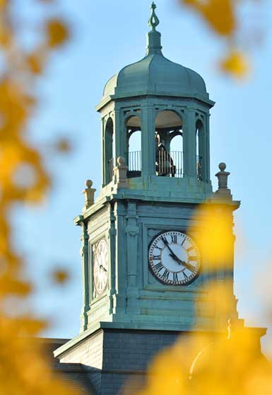 Stephens Hall clock tower