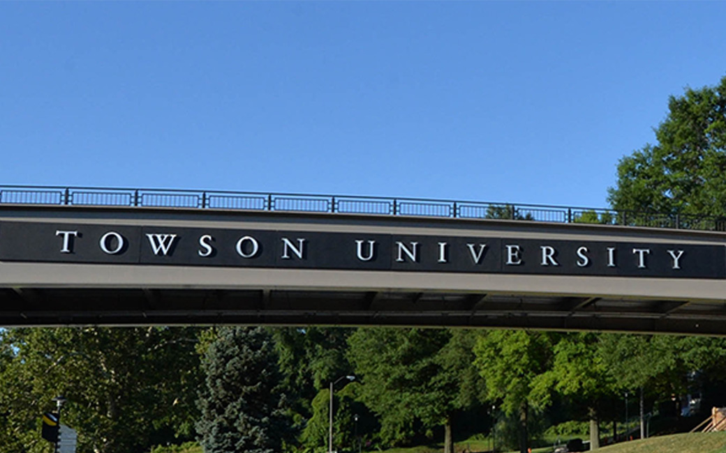 Towson University Bridge
