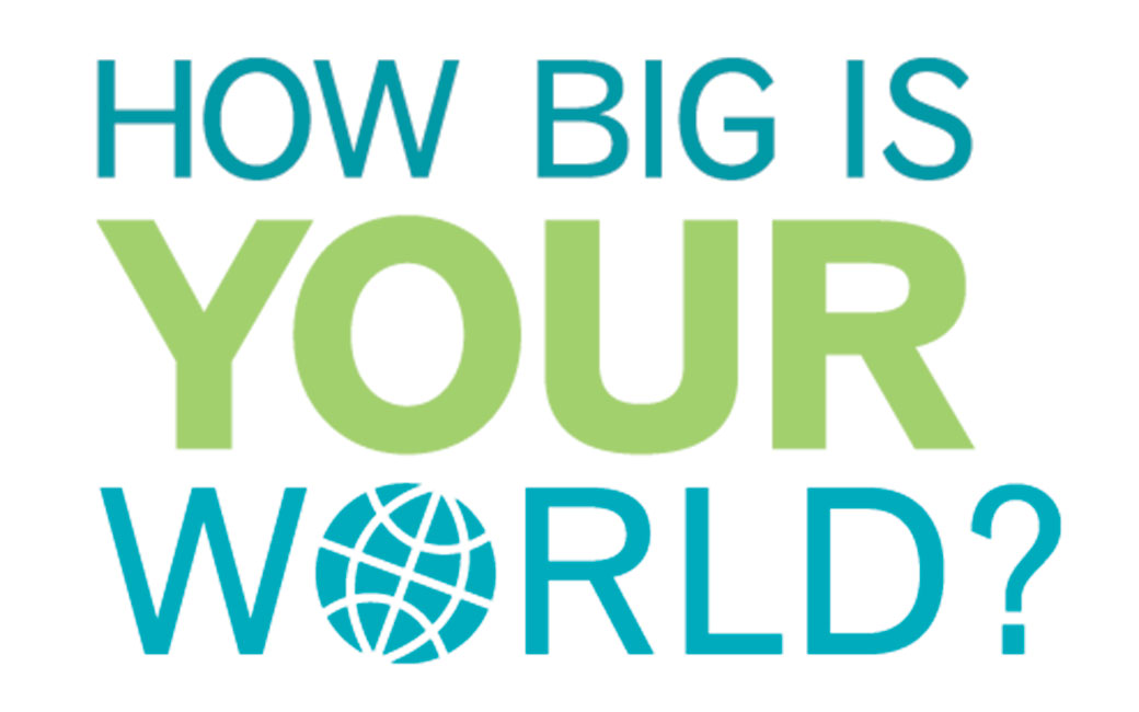 How Big Is Your World logo