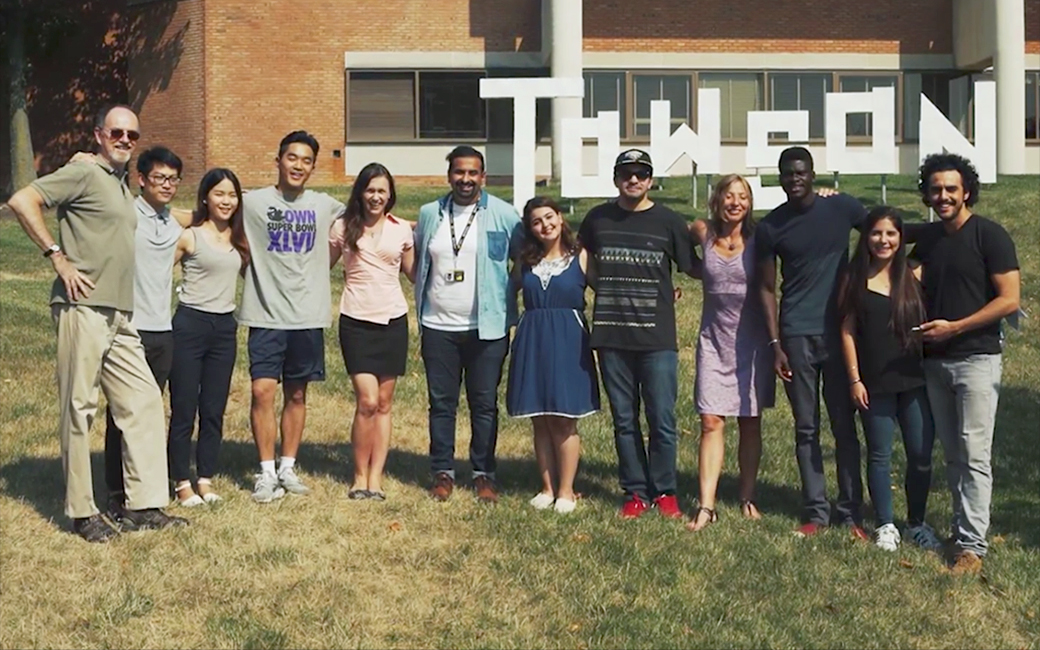 English Language Center students at Towson University
