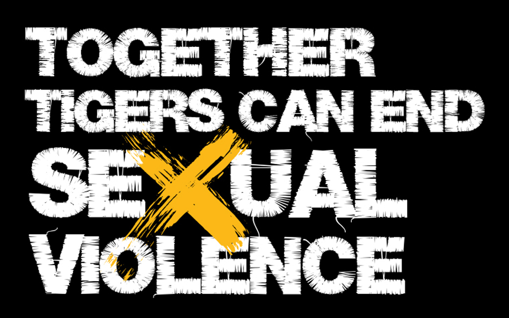 Together tigers can end sexual violence