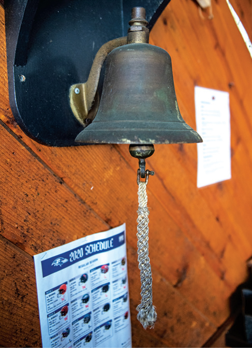 A bell at CVP