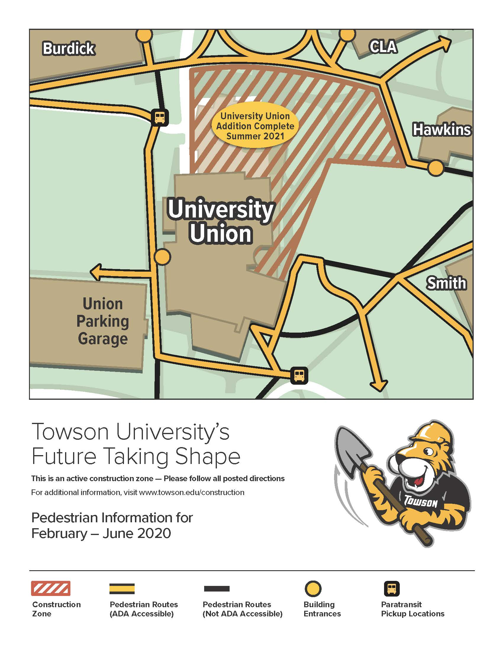 Downtown Campus Map Wvu.Campus Map Towson University