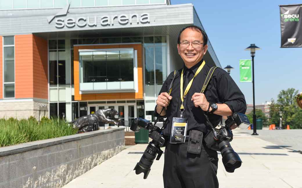 Towson University Photographer Kanji Takeno