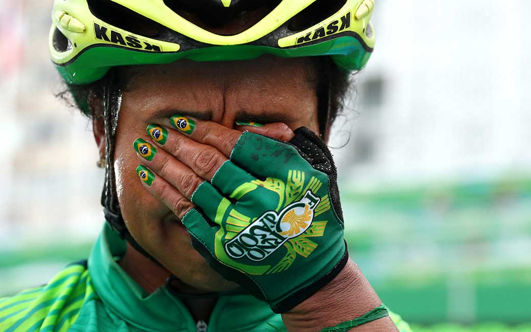 Patrick Smith '09 captured the raw emotion of a Brazilian athlete