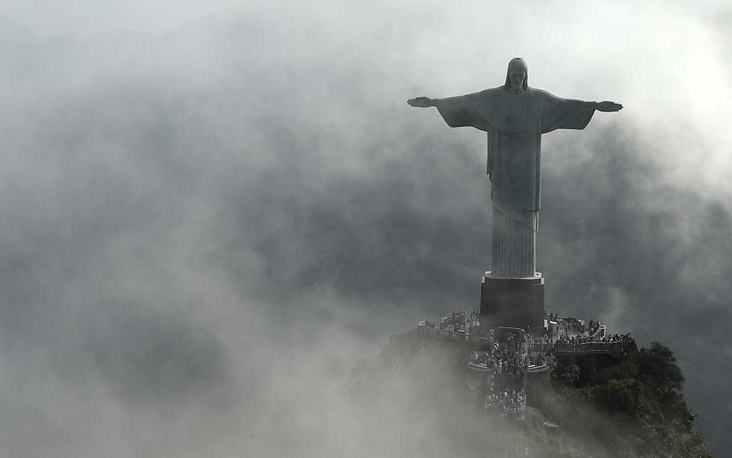 Christ the Redeemer (credit: Patrick Smith '09)