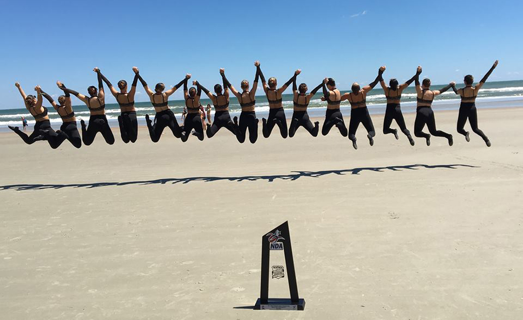The Towson University Dance Team continues its award-winning legacy, picking up its 18th national championship during the 2018 National Dance Alliance Collegiate National Championship in Daytona Beach, Florida.
