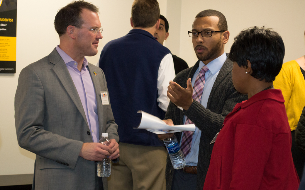 The TU Incubator hosted several of central Maryland's top EdTech entrepreneurs during its inaugural EdTech Innovation Showcase on Thursday, Dec. 8.