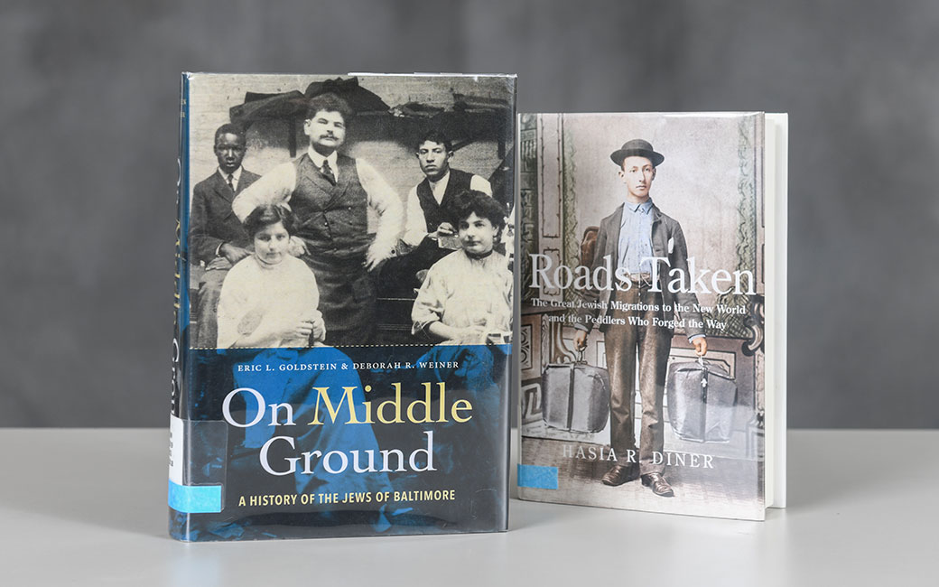 "Books ""On Middle Ground"" and ""Roads Taken"""