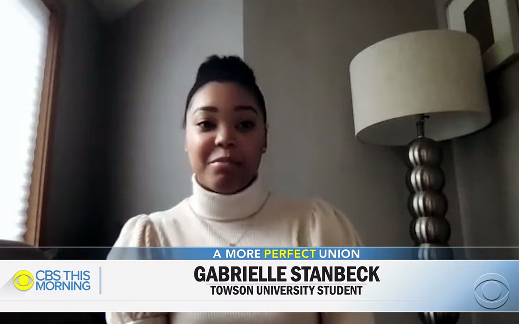 Gabrielle Stanback on CBS This Morning