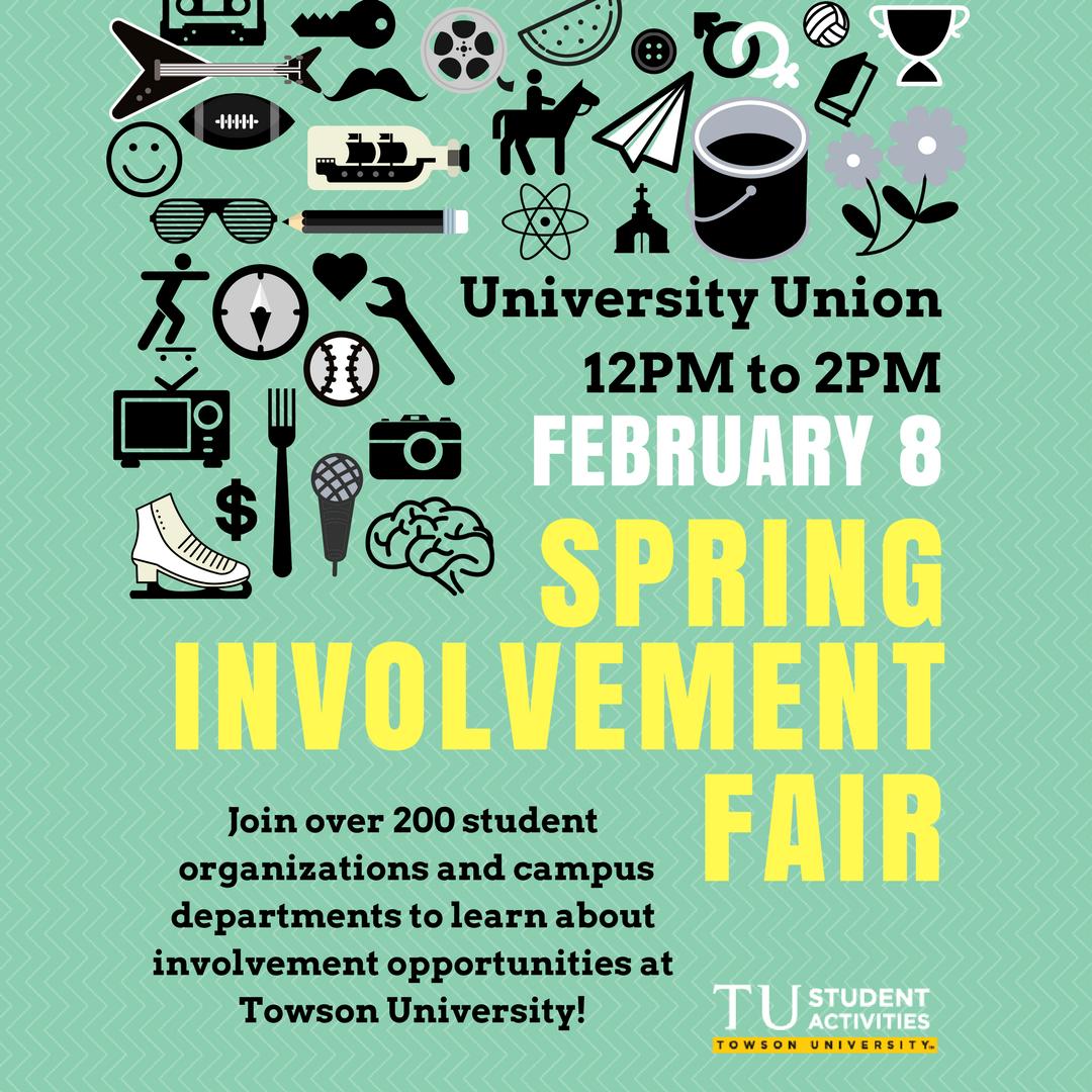 Towson University Involvement Fair