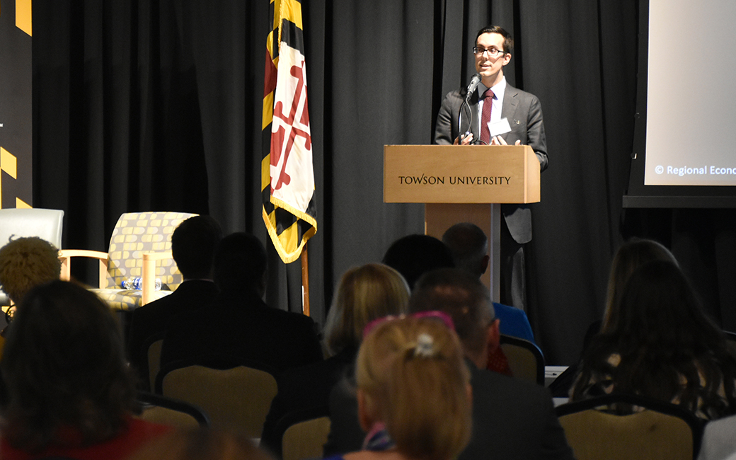 RESI's Michael Seirs presents at the Maryland Workforce Outlook Forum