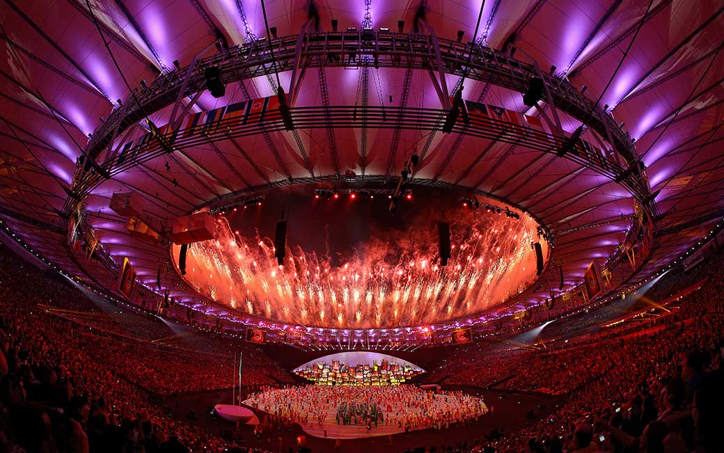 Rio Olympics Opening Ceremony (credit: Patrick Smith '09)