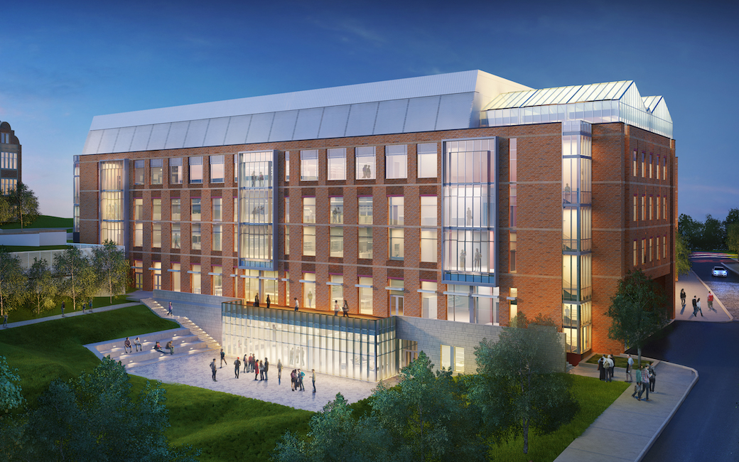 A rendering of the new Science Complex, expected to be complete in fall 2020.
