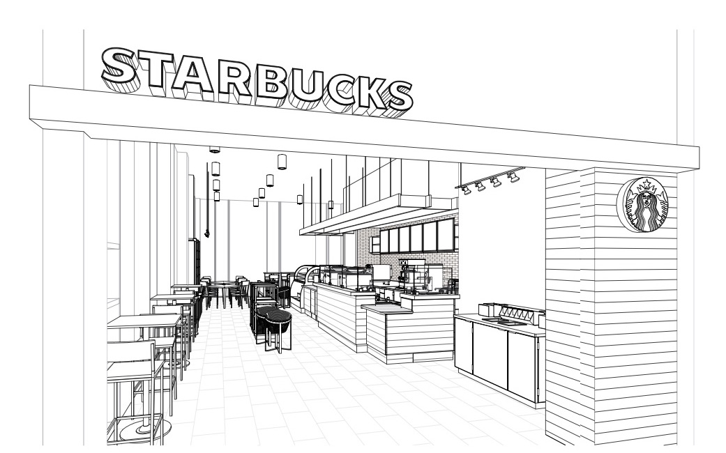 Newell Dining Starbucks And Glen Bridge Temporarily