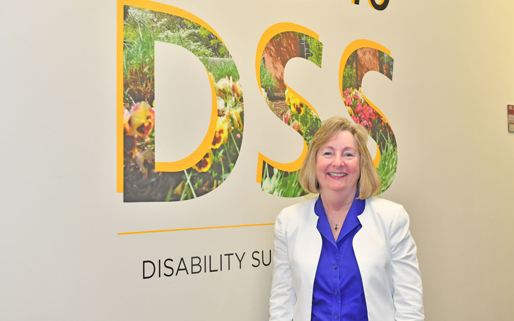 Director of Disability Support Services Susan Willeman