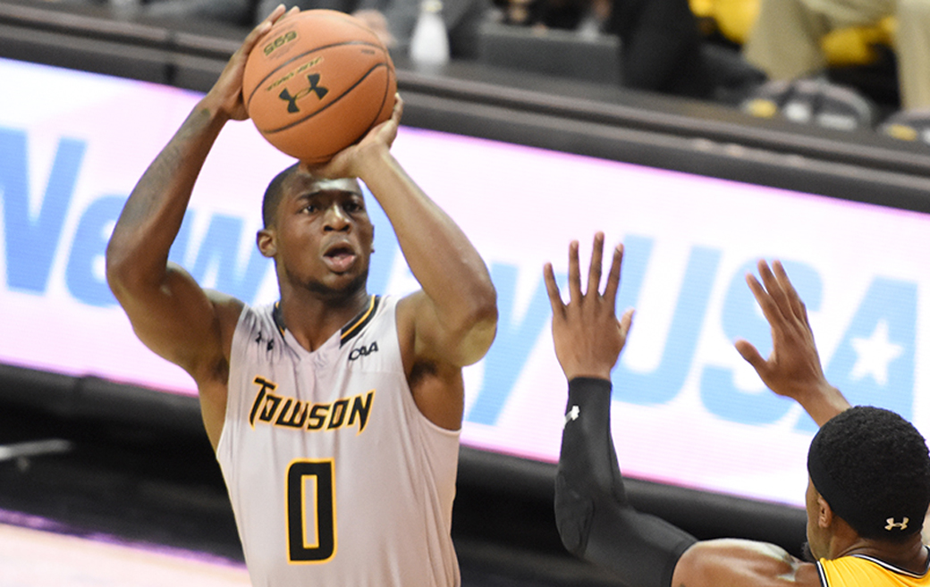 Towson men's basketball sophomore Zane Martin is the Tigers leading scorer, averaging over 18 points per game. He and the Tigers play three straight games at home, starting on Friday, January 5 against UNC Wilmington.